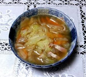 白菜のスープ風中華煮